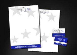 Huisstijl ontwerp EVENT-U-ALL