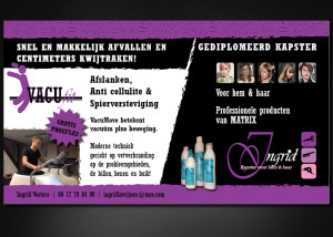 Advertentie ontwerp INGRID VOSTERS