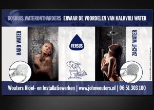 Advertentie ontwerp WOUTERS RIOOL- EN INSTALLATIEWERKEN