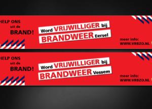 Ontwerp banner BRANDWEER
