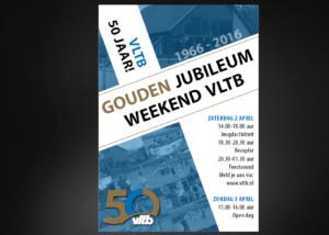 Ontwerp poster VLTB Jubileumweekend