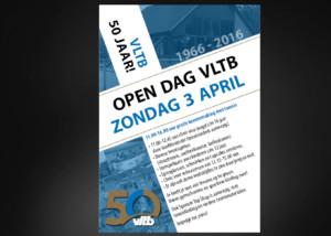 Ontwerp poster VLTB Open Dag