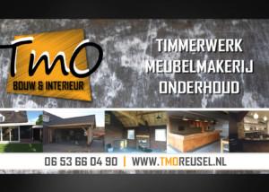 Ontwerp reclamebord TMO Reusel