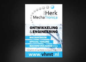 Advertentie ontwerp VAN HERK MECHATRONICA