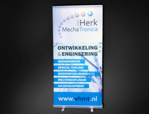 Ontwerp rol-up banner VHMT