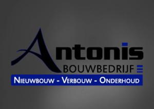 Logo ontwerp ANTONIS BOUWBEDRIJF