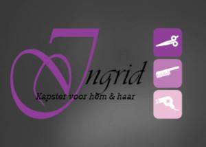 Logo ontwerp INGRID VOSTERS