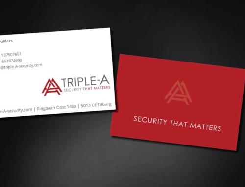 Ontwerp visitekaartjes Triple A