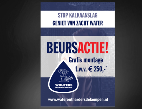 Ontwerp poster Wouters Waterontharders
