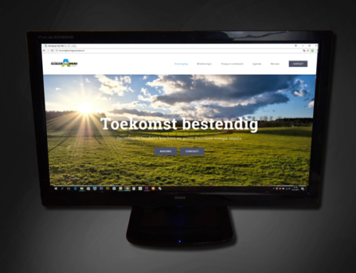 Ontwerp website Vereniging High Tech Agro Campus