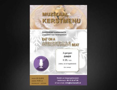 Ontwerp flyer Karmanath