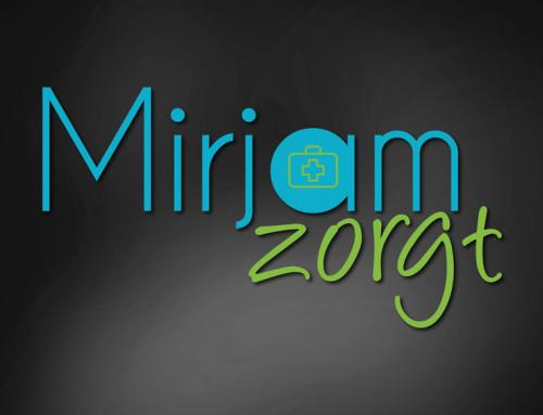 Ontwerp logo Mirjam Zorgt