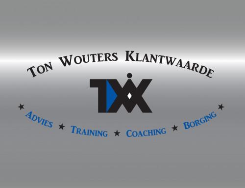 Ontwerp logo Ton Wouters Klantwaarde
