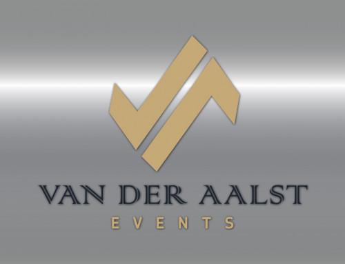 Ontwerp logo Van der Aalst Events
