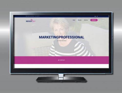 Ontwerp website Nexus Marketing Support
