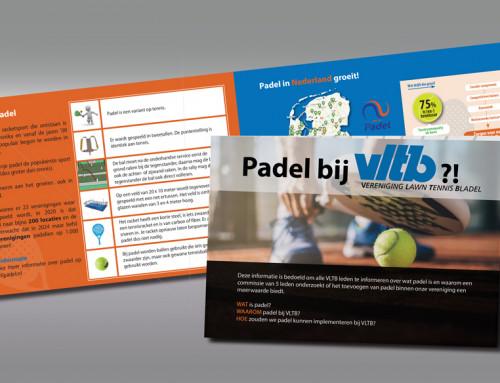 Ontwerp brochure VLTB