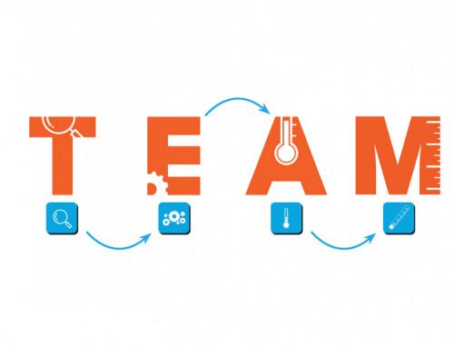 Ontwerp logo TEAM aanpak TeamPLAYers.NU