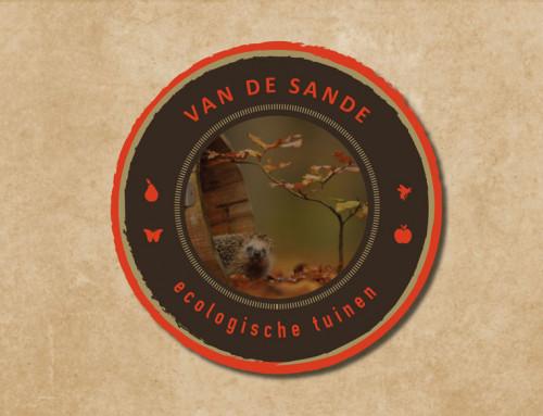 Ontwerp logo Van de Sande Ecologische Tuinen