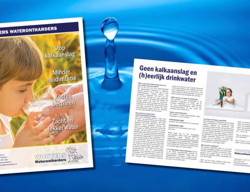 Ontwerp advertentie Wouters Waterontharders